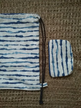 WATERCOLOR STRIPE MINI POUCH