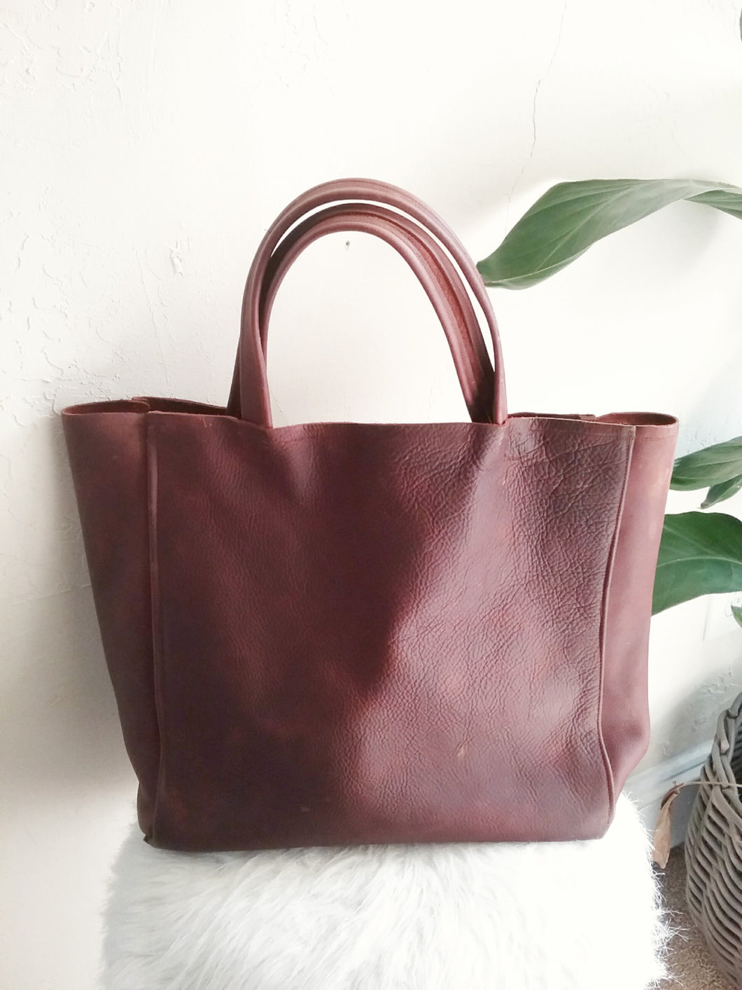 CLASSIC TOTE REDUX / BROWN