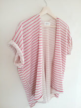 STRIPE ALEXA CARDIGAN / PUNCH