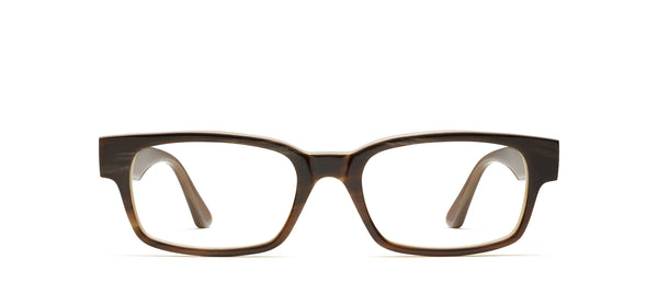 Ralphie Horn in brown / creme