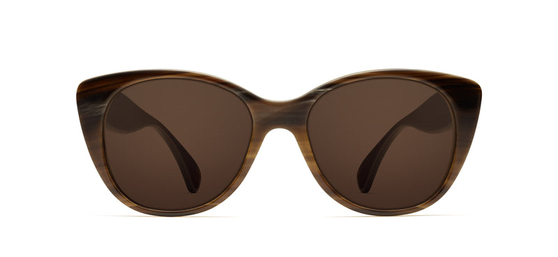 Tilda Horn in brown / creme