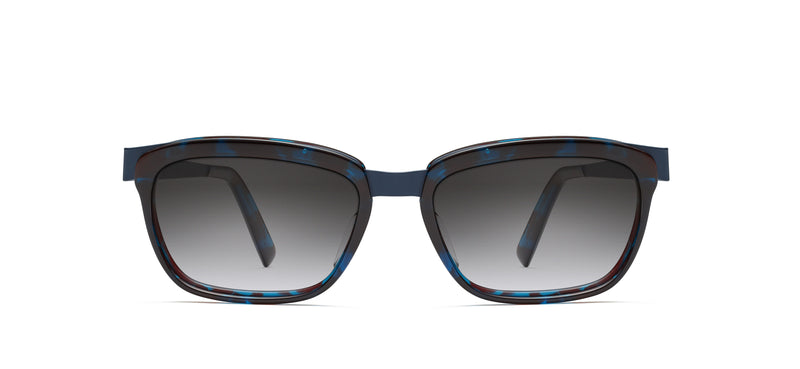 Walt Sun in midnight blue / blue tortoise