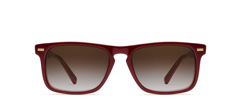 Newman Sun in red amber