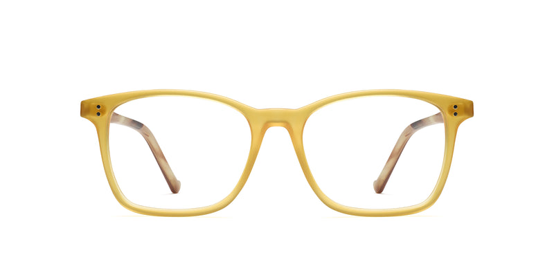 Brad in butterscotch / tortoise matte