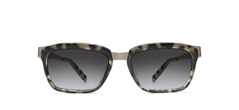 Walt Sun in antique pewter / grey tortoise