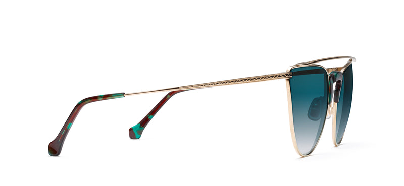 Schultze in copper / blue tortoise