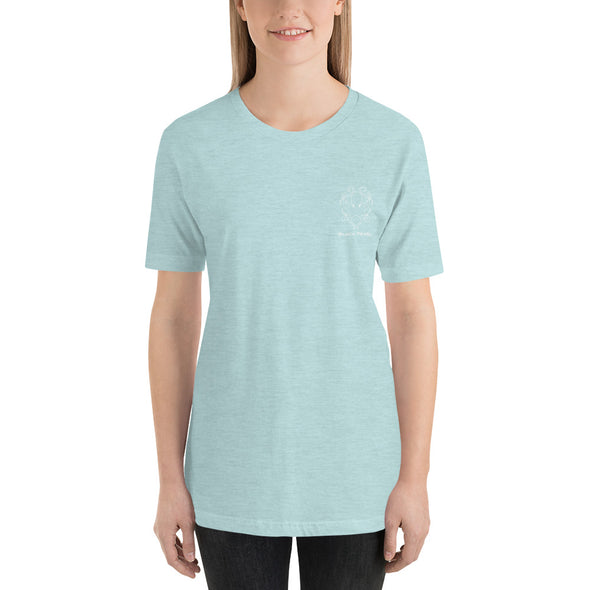 Heather Prism Ice Blue Short-Sleeve T-Shirt
