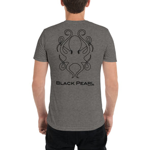 Grey Triblend Short-Sleeve T-Shirt