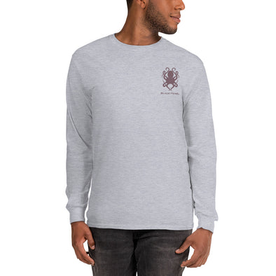 Grey Long-Sleeve T-Shirt
