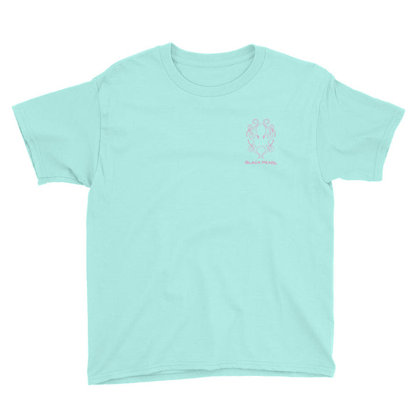 Teal Short-Sleeve Youth T-Shirt