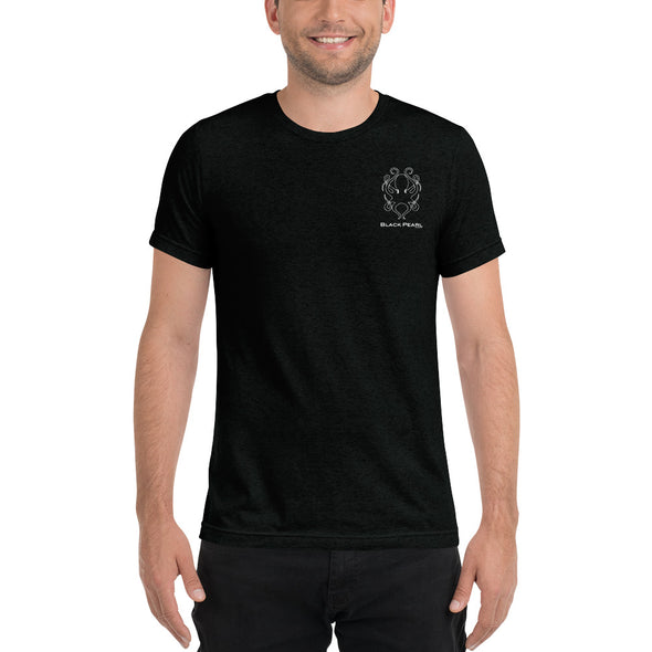 Black Triblend Short-Sleeve T-Shirt