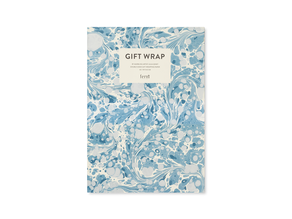Marbling Gift Wrap by Ferm Living