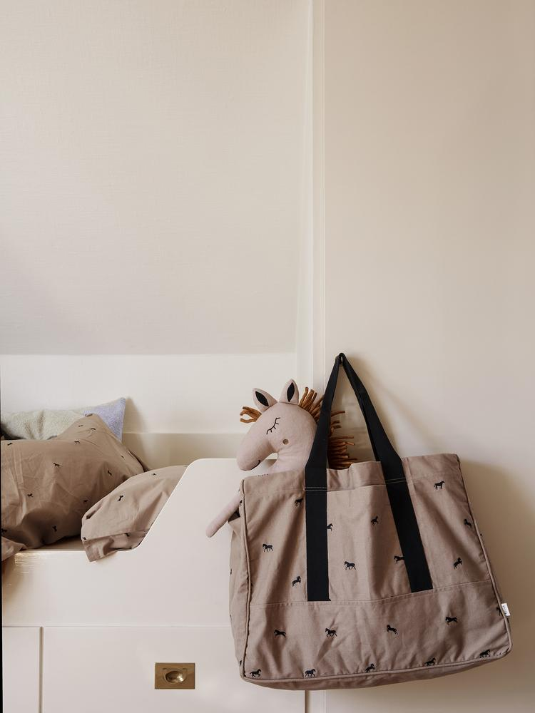 Safari Cushion Horse in Dusty Rose by Ferm Living