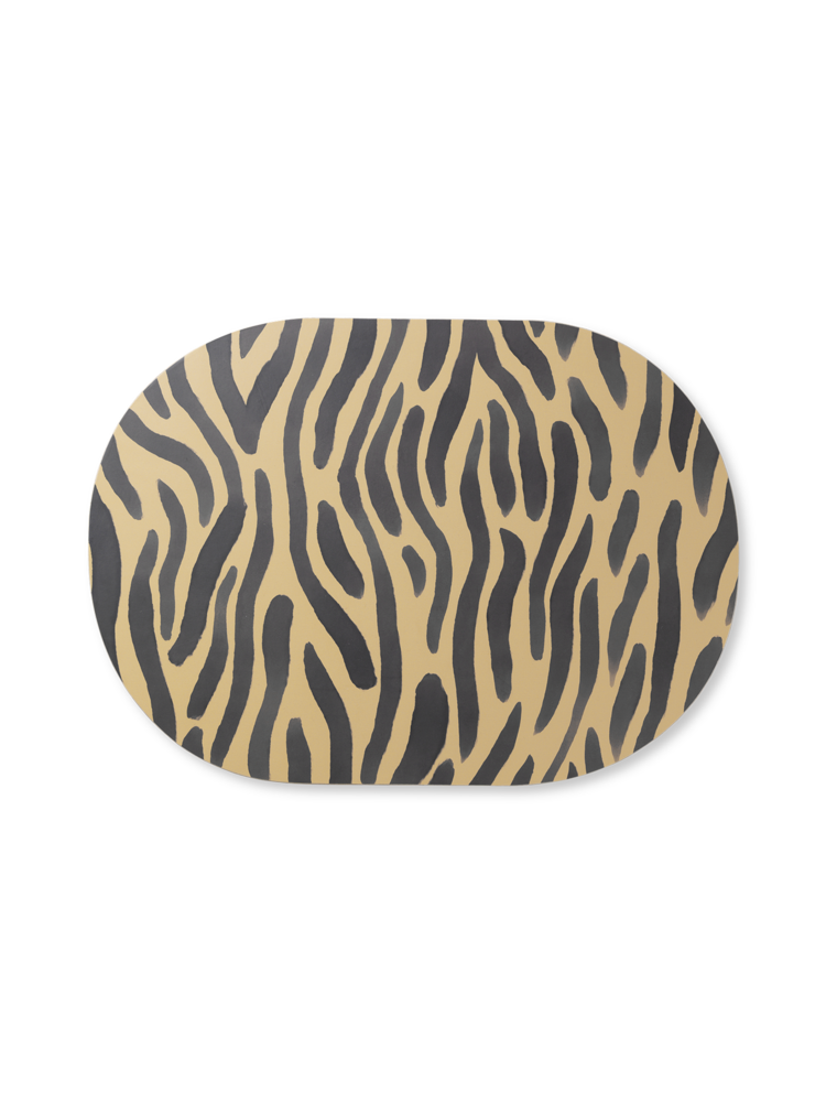 Safari dinner mat in Tiger by Ferm Living