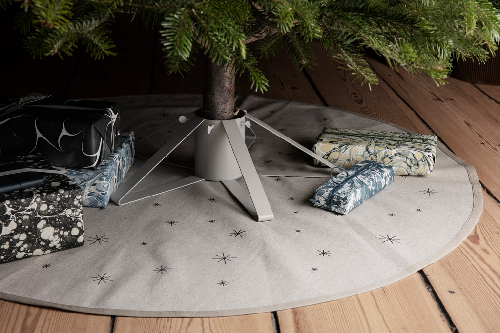 Star Christmas Tree Blanket by Ferm Living