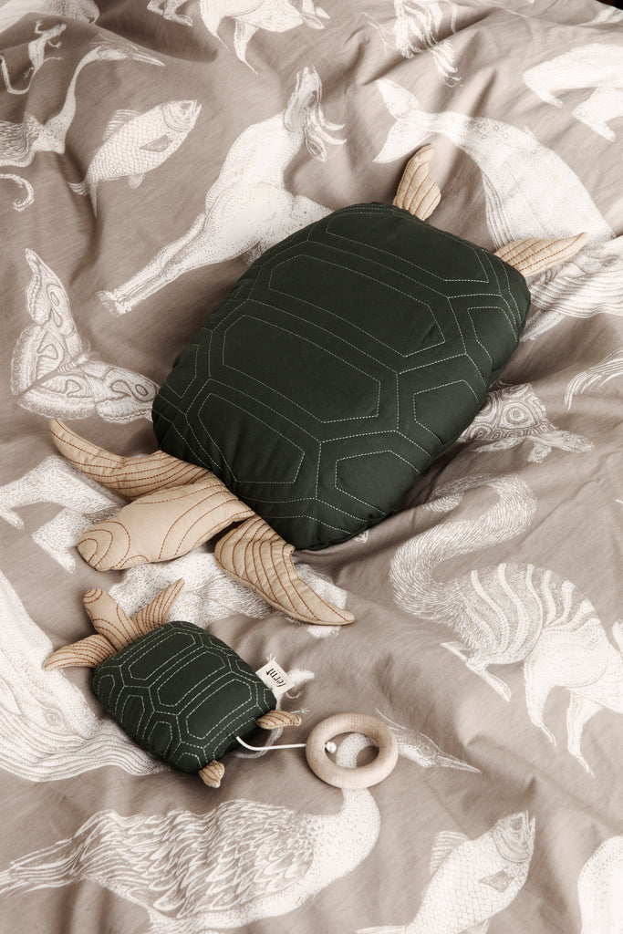Turtle Quilted Music Mobile by Ferm Living