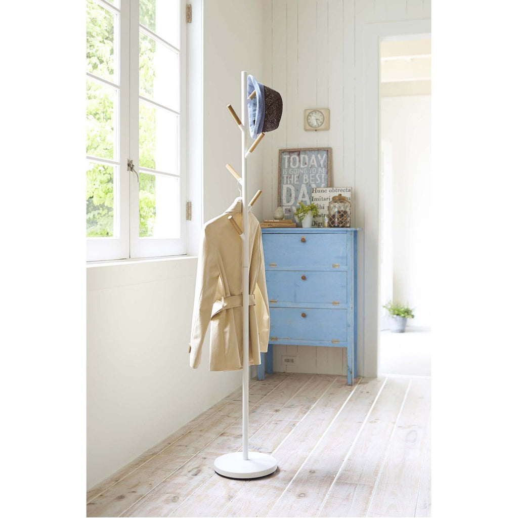 Plain Freestanding Coat Rack by Yamazaki