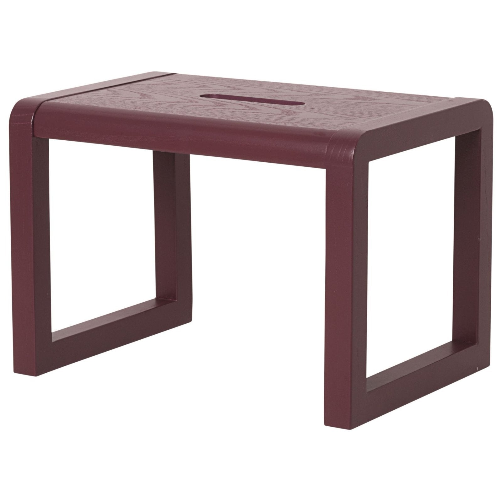 Little Architect Stool in Bordeaux design by Ferm Living