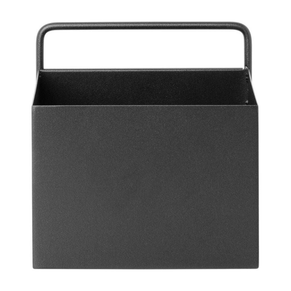 Square Wall Box in Black by Ferm Living