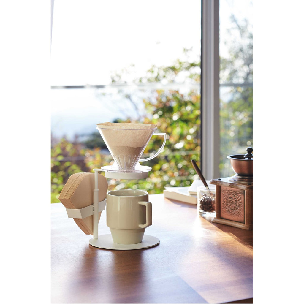 Tower Pour-Over Dripper Stand by Yamazaki