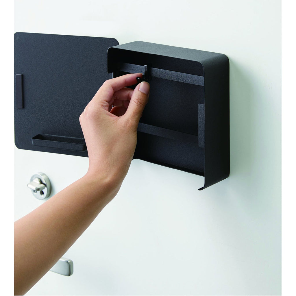 Tower Square Magnet Key Cabinet by Yamazaki