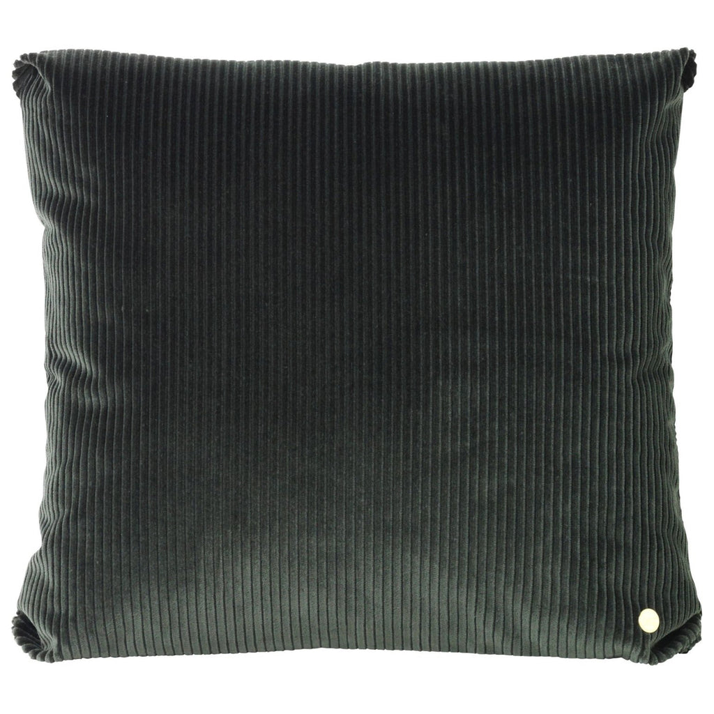 Corduroy Cushion in Green by Ferm Living