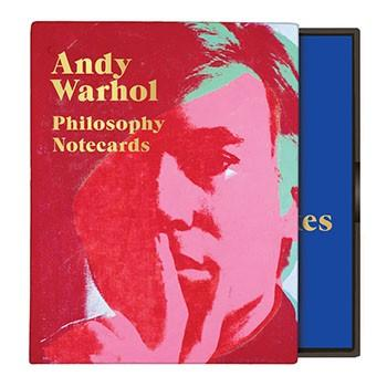 Andy Warhol Philosophy Greeting Assortment Notecards By Galison