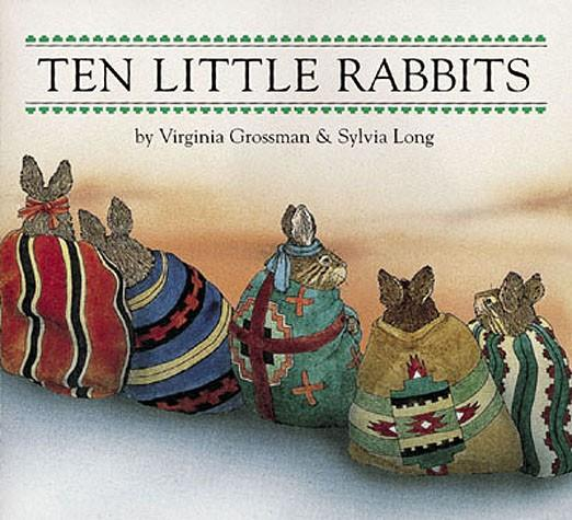 Ten Little Rabbits – Board Book by Virginia Grossman