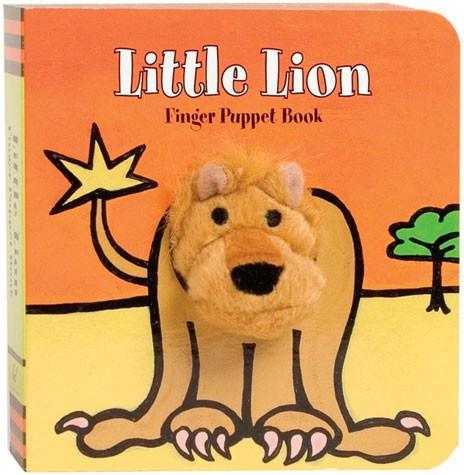 Little Lion Finger Puppet Book   By ImageBooks