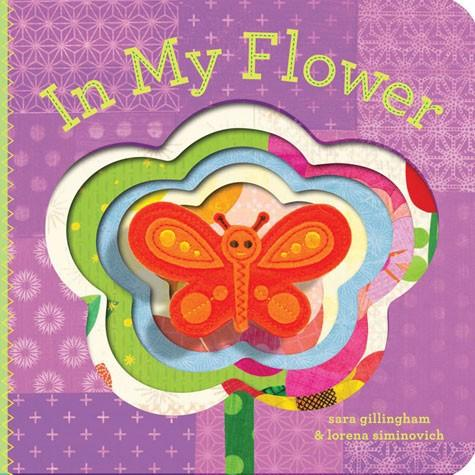 In My Flower Finger Puppet Book   By Sara Gillingham