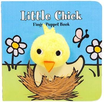 Little Chick: Finger Puppet Book By Image Books