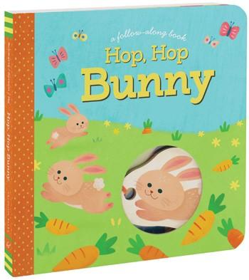 Hop, Hop Bunny - A Follow Along Book By Betty Ann Schwartz and Lynn Seresin