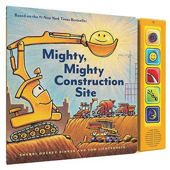 Mighty, Mighty Construction Site Sound Book By Sherri Duskey Rinker