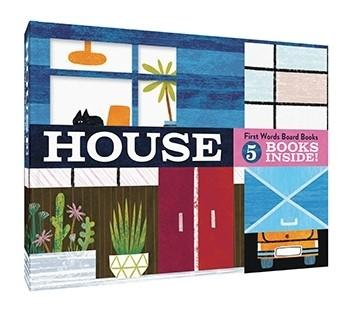 House: First Words Board Books 5 books inside!