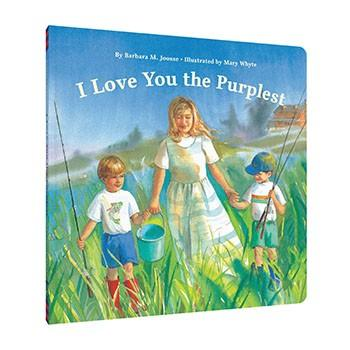 I Love You the Purplest – Board Book  By Barbara M Joosse