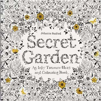 Secret Garden: An Inky Treasure Hunt and Coloring Book Laurence King Publishing By Johanna Basford