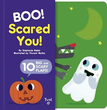Boo! Scared You! Twirl   By Stephanie Babin