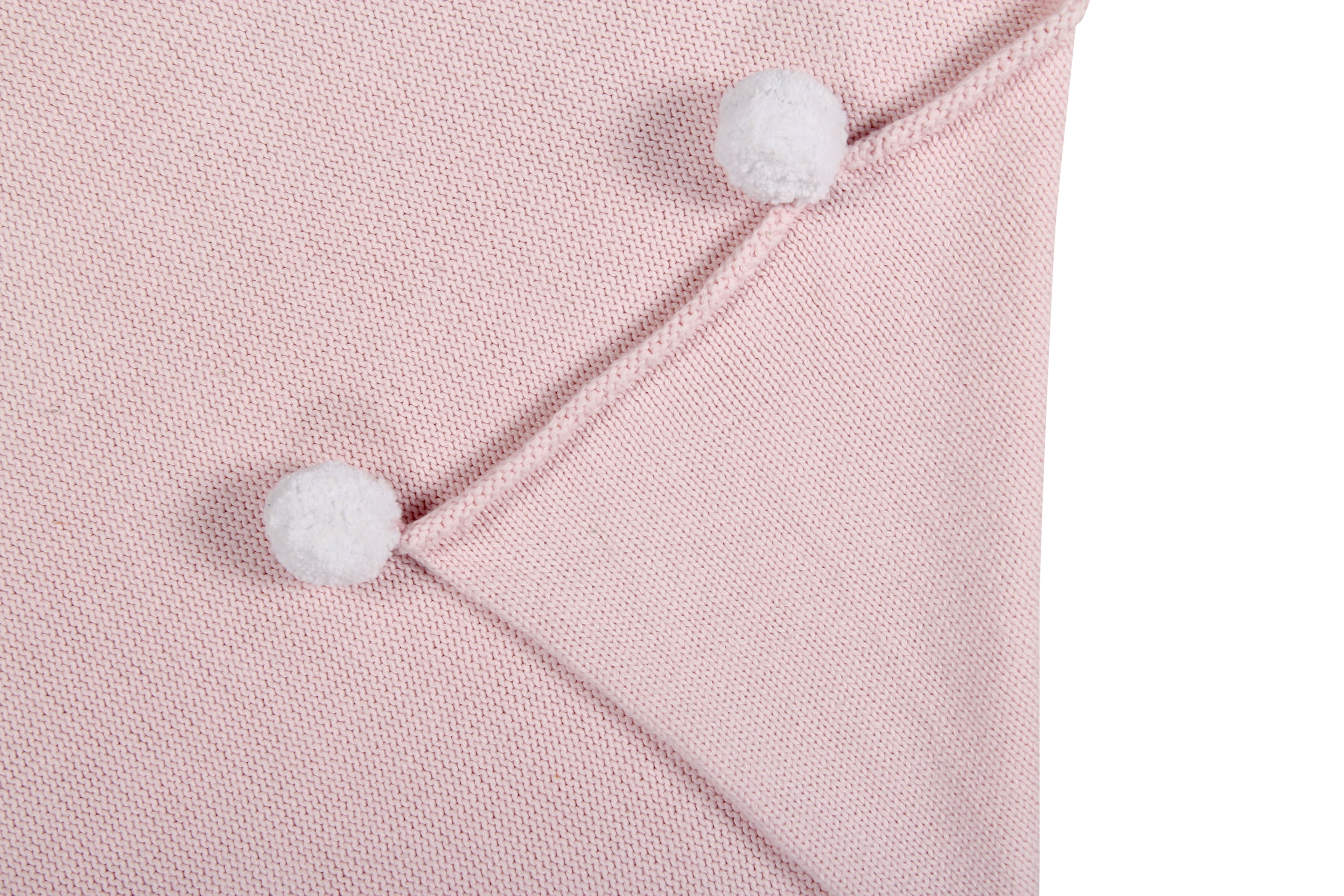 Bubbly Baby Blanket in Soft Pink design by Lorena Canals