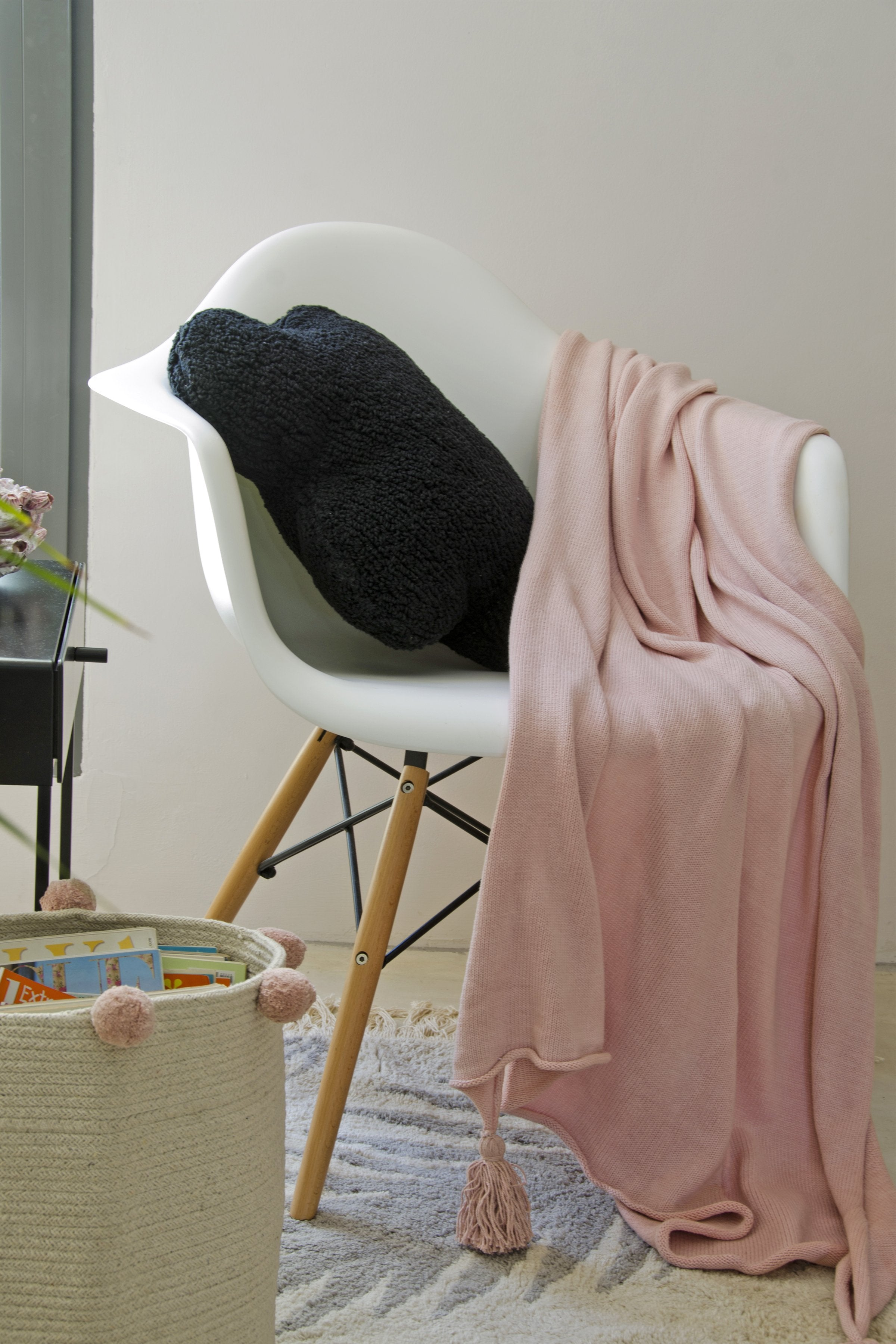 Ombré Blanket in Nude design by Lorena Canals