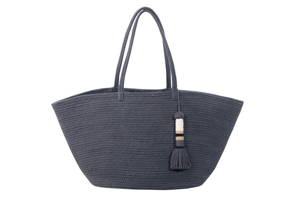Cistell Basket in Dark Grey