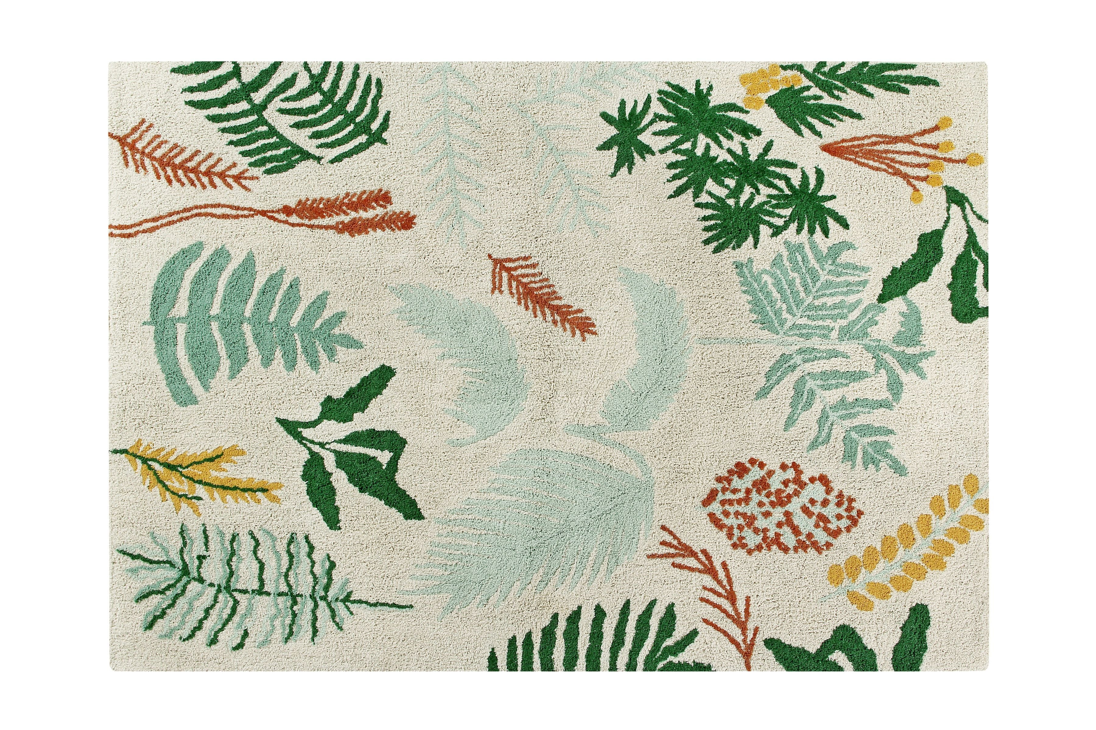 Botanic Plants Rug design by Lorena Canals