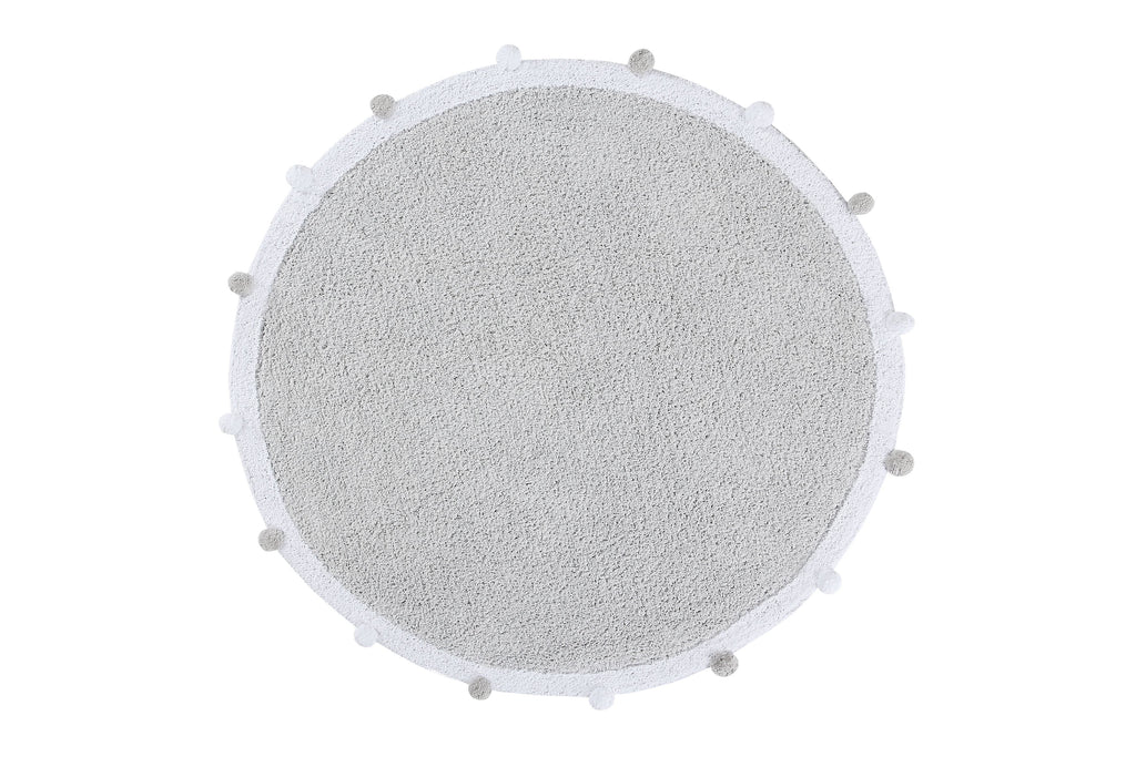 Bubbly Rug in Light Grey design by Lorena Canals