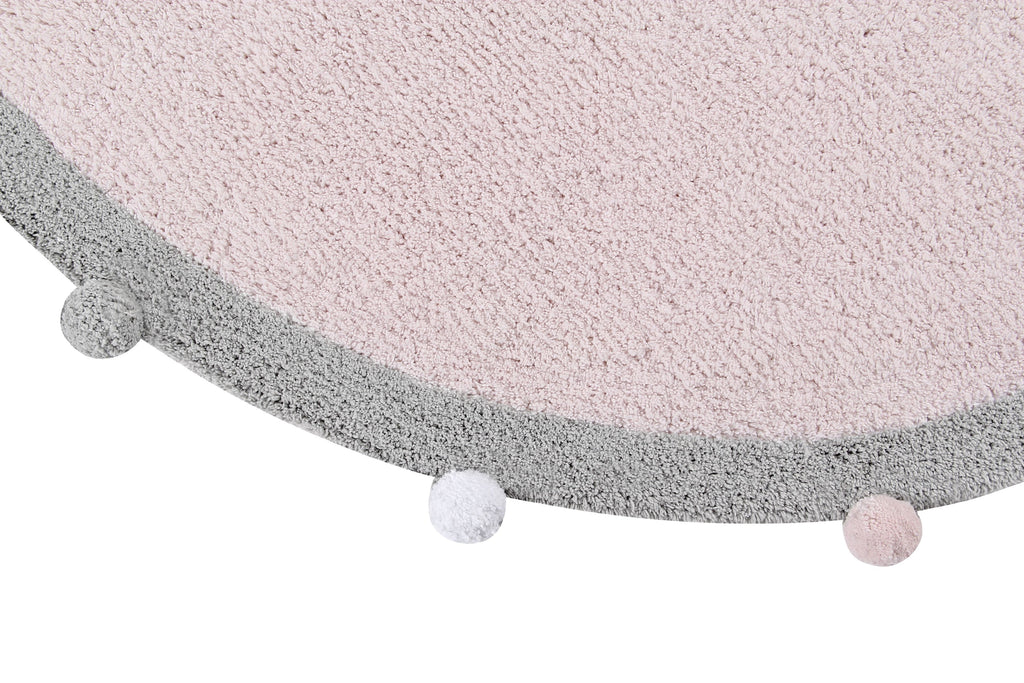 Bubbly Rug in Soft Pink design by Lorena Canals