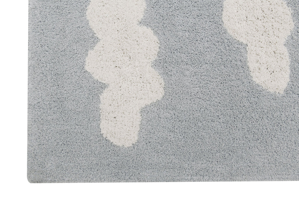 Clouds Rug in Grey design by Lorena Canals