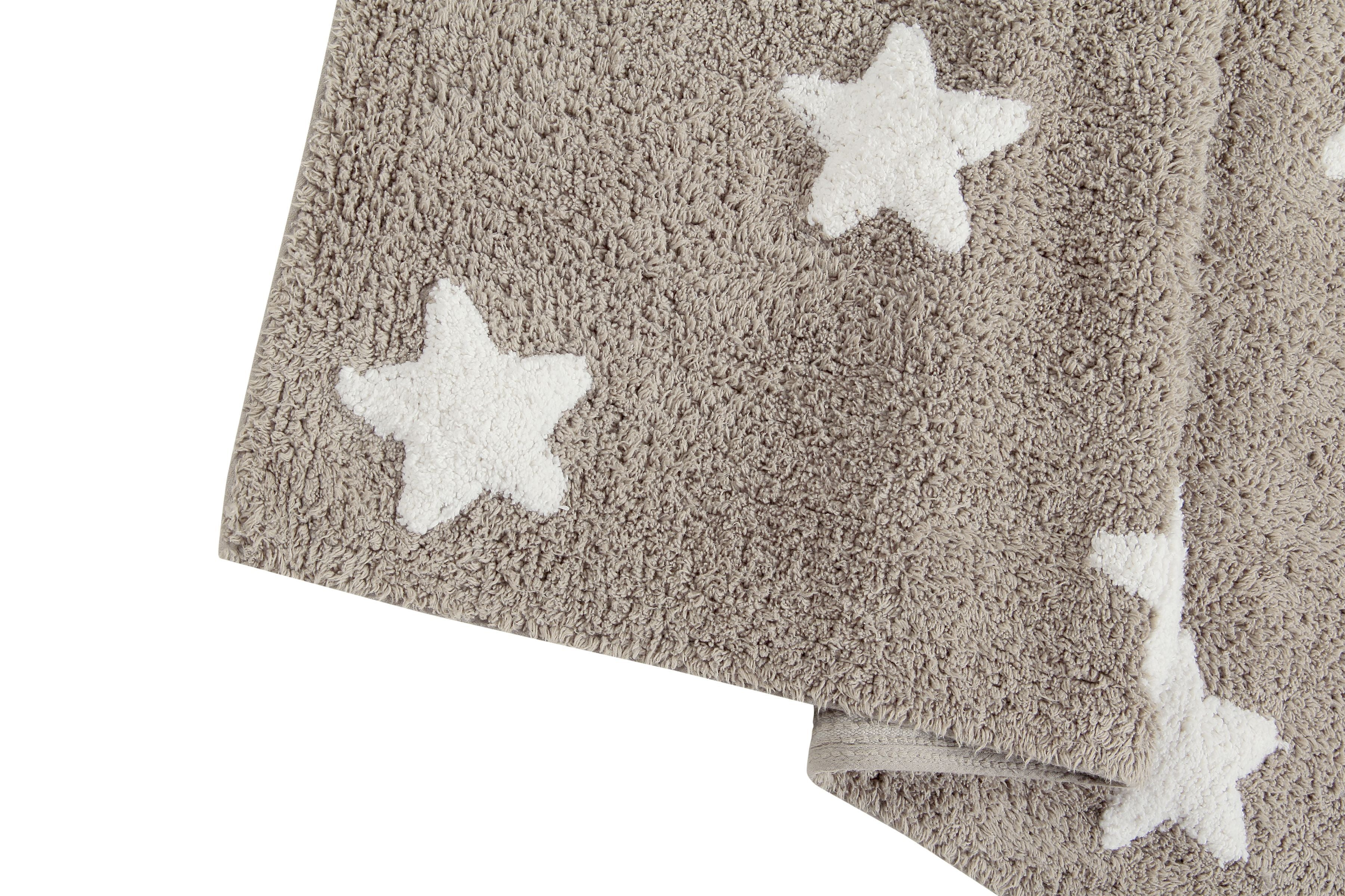 Stars Rug in Linen & White design by Lorena Canals