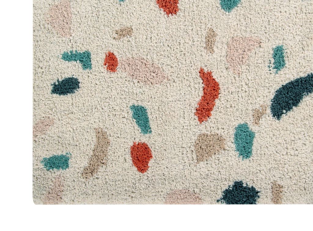 Terrazzo Rug in Marble design by Lorena Canals