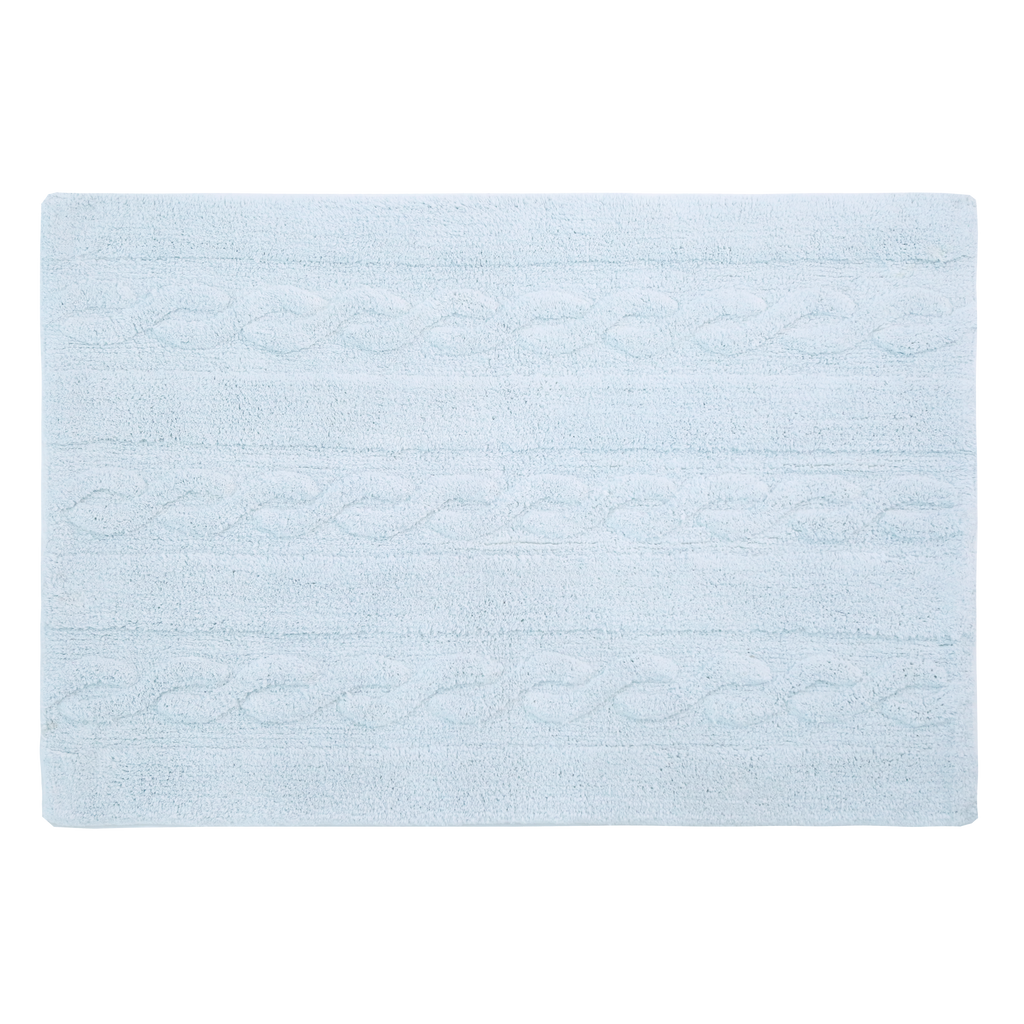Braids Rug in Soft Blue design by Lorena Canals