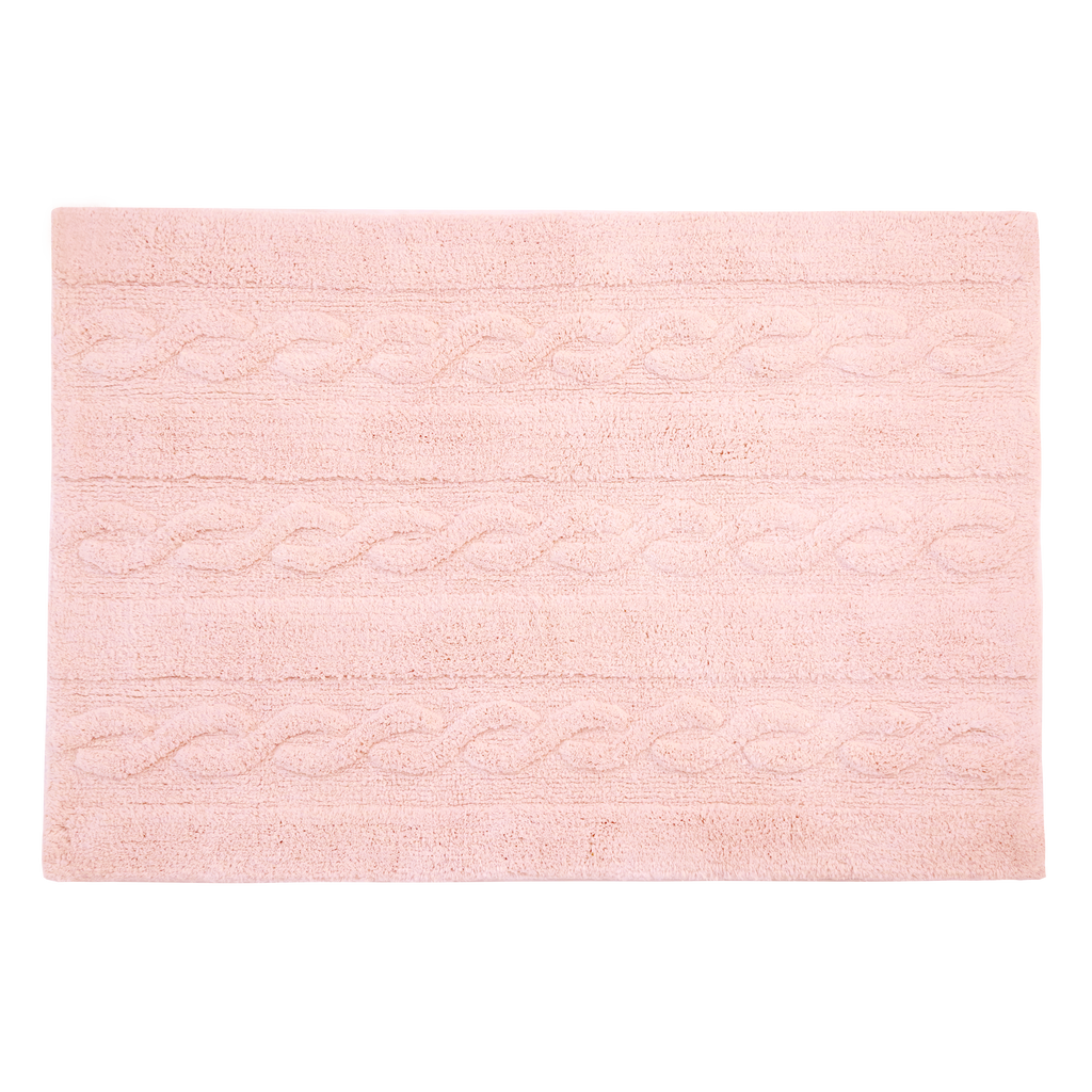 Braids Rug in Soft Pink design by Lorena Canals