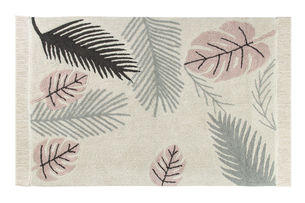 Tropical Pink Rug design by Lorena Canals