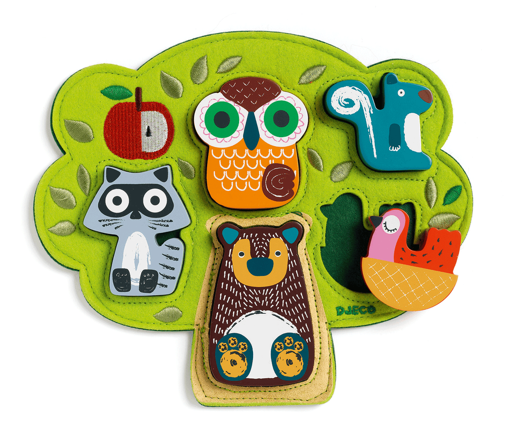 Wooden Puzzles Oski design by DJECO